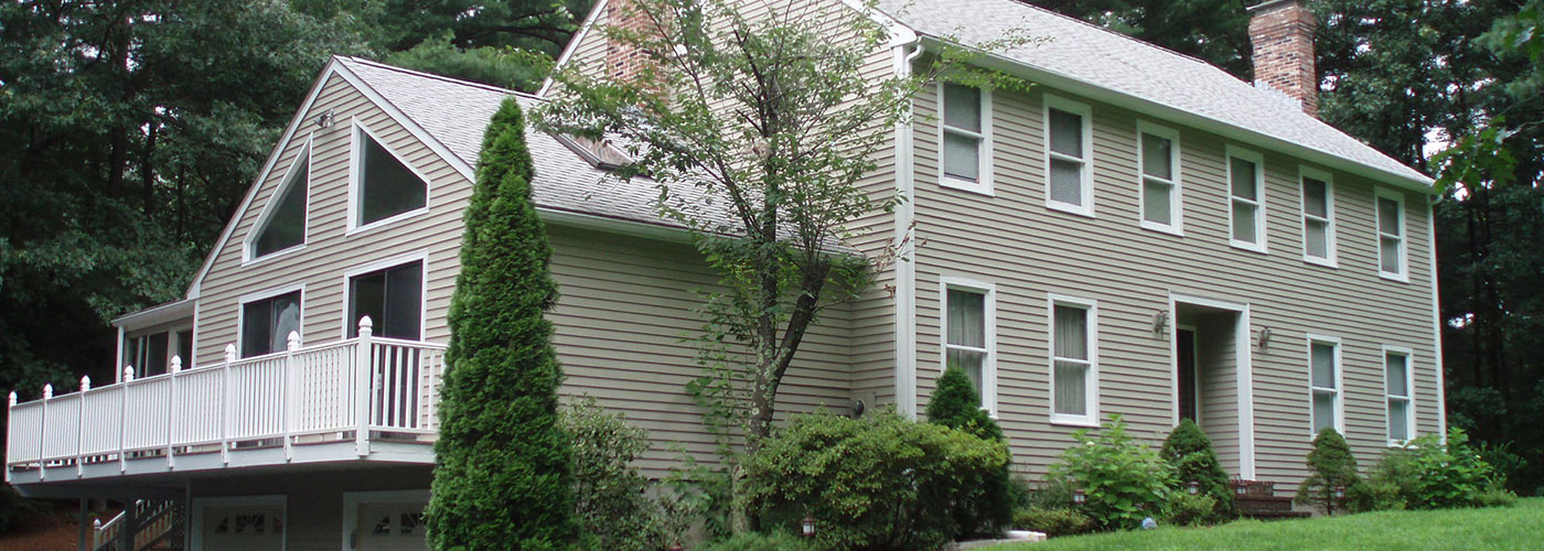 exterior painting in Needham