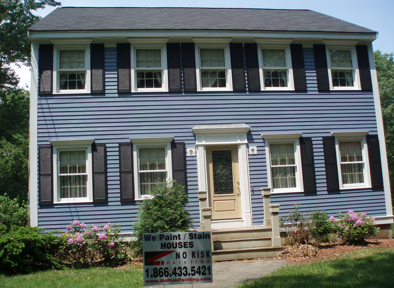Exterior Painting North Shore Ma